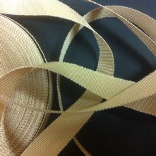 Sand Milliner's Petersham Ribbon in 2 Widths